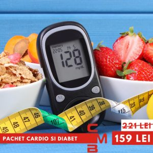 Pachet  cardio si diabet