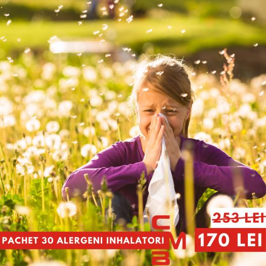 Pachet 30 alergeni inhalatori